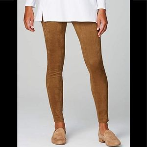 Talbots Faux Suede Skinny Pants